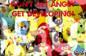 how to create apps like angry birds