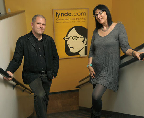 lynda.com online training for graduates